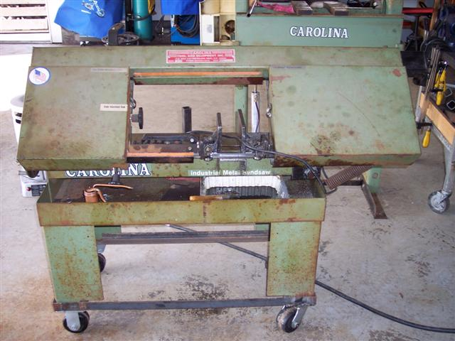 Carolina HD10 Band Saw - Miller Welding Discussion Forums