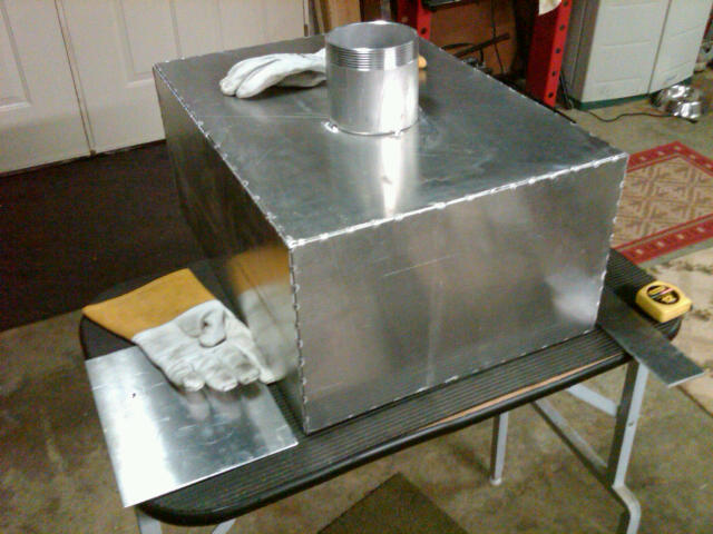 Gas tank and fan shroud for a sa200 - Miller Welding