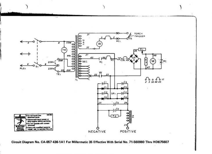 millermatic will not feed - miller welding discussion forums marcus miller wiring diagram #6
