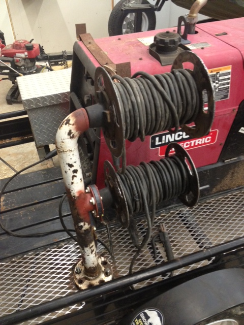 Anyone make ther own welding lead reel? - Miller Welding ...