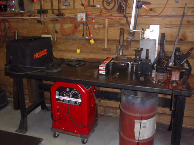 Welding Table Top Material Choice And Thickness Miller
