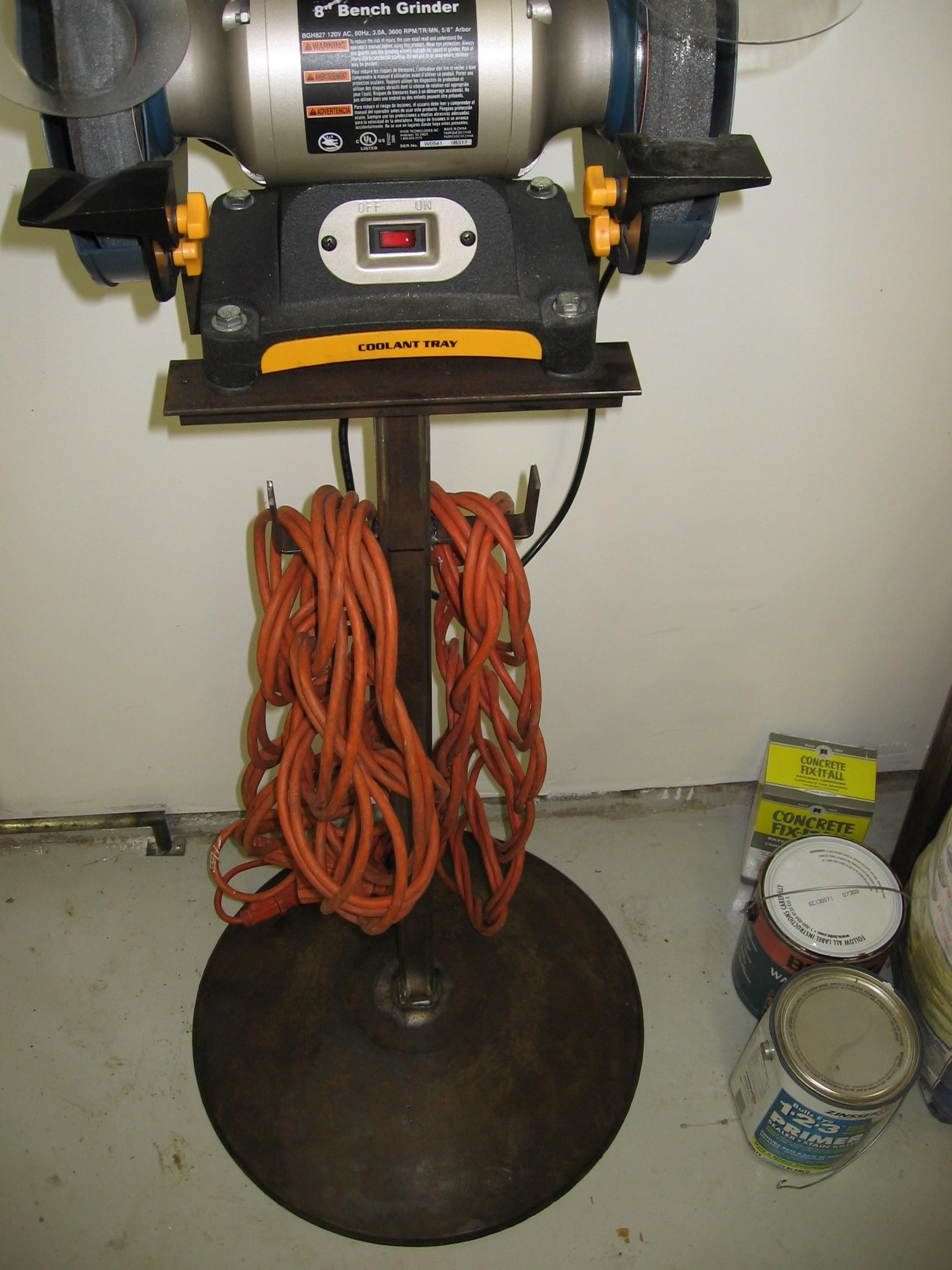 Phenomenal Bench Grinder Stand Miller Welding Discussion Forums Evergreenethics Interior Chair Design Evergreenethicsorg
