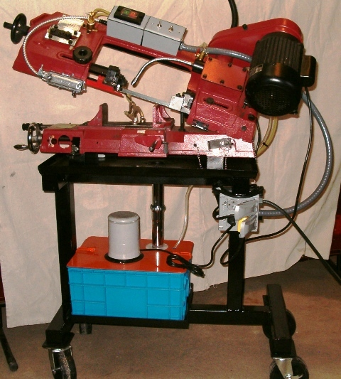 Built a new stand for my Bandsaw - Miller Welding Discussion Forums