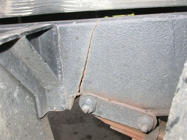 Trailer Cracked Frame Repair - Miller Welding Discussion Forums