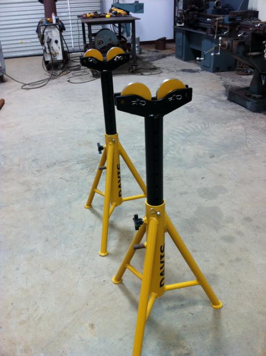 Pipe Jack Stands >> Pipe Roller Jack Stand Project Miller Welding Discussion Forums