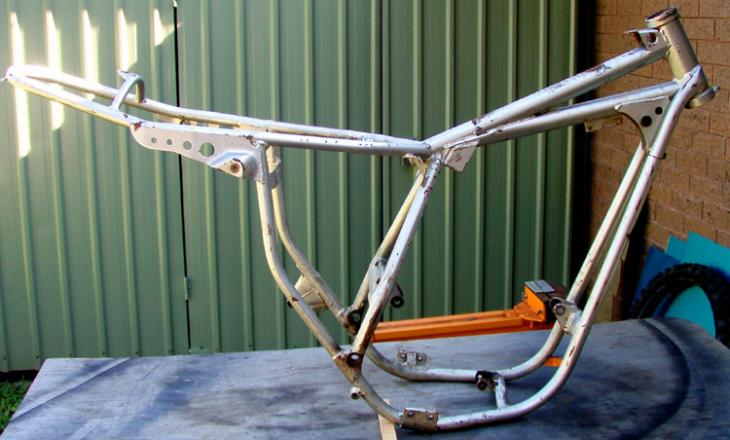 Vintage Dirt Bike Frame Repair - Miller Welding Discussion Forums