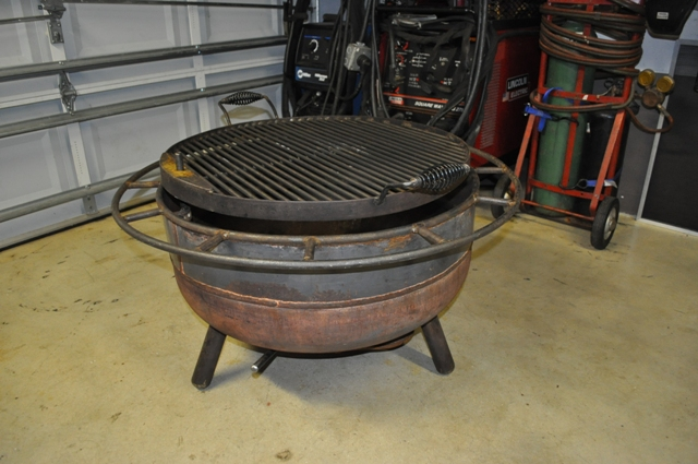 wood burning fire pit/grill - Wood Burning Fire Pit/grill - Miller Welding Discussion Forums