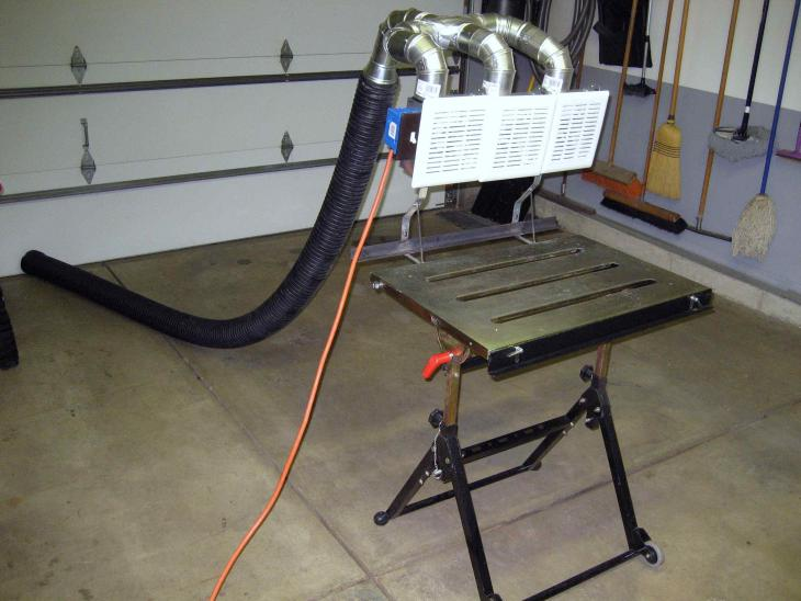 Homemade Fume Extractor For About $100 - Miller Welding