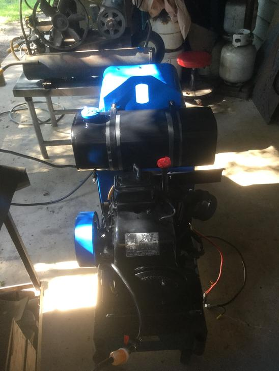 Blue Star 2e Tecumseh 16 Hp Engine Charging Problems
