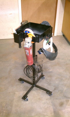 rolling tool cart.