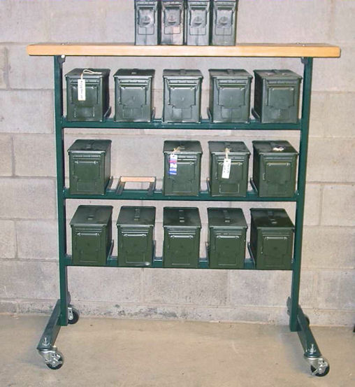 ammo can rack