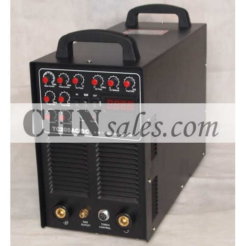 TC 205 ACorDC IGBT 4 in 1 Welding Machine